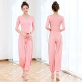 舞韻瑜伽服套裝女加大尺碼新款性感時尚夏季 空中瑜珈初學者莫代爾    麻吉鋪