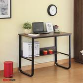 【RICHOME】華特工作書桌(2色)紅橡木色