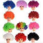 【塔克】爆炸頭 假髮 球迷假髮 爆炸假髮 短髮 長髮 萬聖節/派對/服裝/角色扮演/變裝/搞笑裝扮