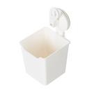 壁掛式化妝品收納盒 創意免打孔置物架 無痕貼雜物廚房浴室整理盒 德克按壓吸盤收納盒 109
