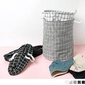 《ZB1297》簡約居家衣物雜物收納籃 OrangeBear
