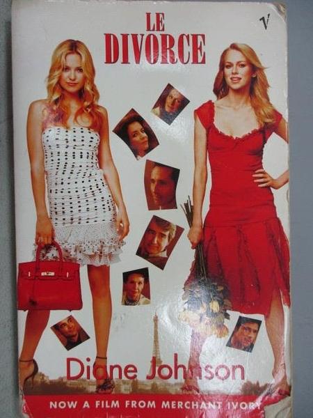 【書寶二手書T5/原文小說_FS7】Le Divorce_Diane Johnson