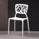 珍尼絲造型椅(白)(21CM/1072-14)/H&D東稻家居