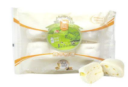 【飛牛牧場.牛奶生活館.乳酪起司饅頭】100%鮮奶濃純香起司入口即化