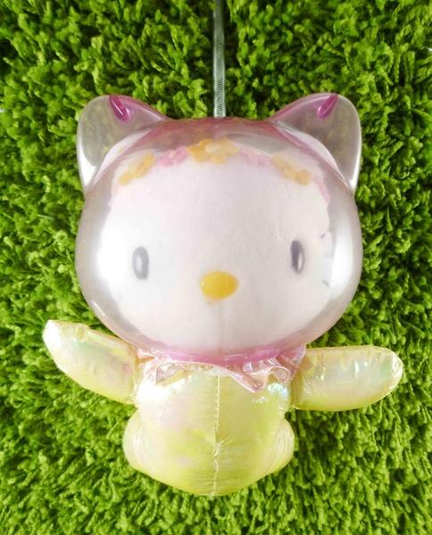 【震撼精品百貨】Hello Kitty 凱蒂貓~KITTY絨毛娃娃-太空造型-粉紫