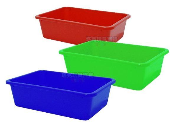 公文籃 300深盤 平籃 洗菜籃 塑膠籃 整理盤 菜盤 密盆 塑膠盆 方盆 深皿 MIT【塔克】