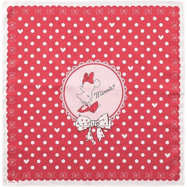丸真 盒裝手帕 迪士尼 米妮 洋裝 紅_RS66144