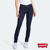 Levis 女款 312 中腰縮腹修身窄管牛仔褲 / 原色基本款 / 彈性布料