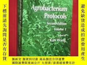 二手書博民逛書店Agrobacterium罕見Protocols: Volume