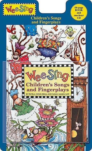 (二手書)Wee Sing Children's Songs and Fingerplays +CD