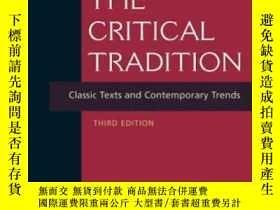 二手書博民逛書店【罕見】2006年出版 The Critical TraditionY175576 David H. Rich