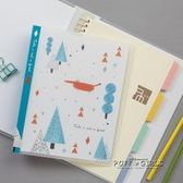 創意簡約學生A5可替芯記事本日記本辦公筆記本文具