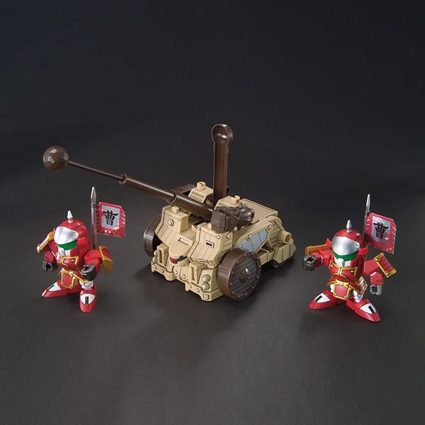 BB戰士.三國傳 典韋亞席瑪 賈詡安斯坦洛 攻城兵器套組&合體武裝6種 (甲) 410