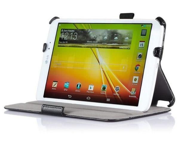 LG G Pad 8.3 保護套 文逸熱定型折平板皮套 V500 支架保護殼【預購】