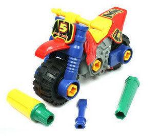 玩具鍛煉邏輯思維/拆裝摩托車 0.24kg