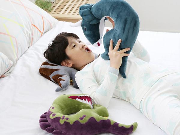 韓國 恐龍造型枕