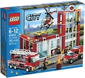 LEGO 樂高 City 城市系列 Fire Station 消防局 60004