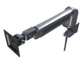 [P-黑色]液晶螢幕旋轉手臂支架-高級夾桌壁掛二用型-台灣製造VESA標準