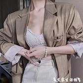 手鍊 淡水珍珠手鍊女精致巴洛克手鐲新品學生閨蜜手飾ins小眾設計手串 艾家