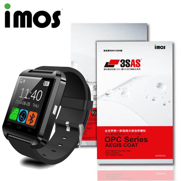 iMOS SONY SmartWatch U80 3SAS 疏油疏水 螢幕保護貼