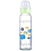 nac nac 吸吮力學標準耐熱玻璃奶瓶(240ml) 2支 * 贈 Nac三層奶粉盒 + 拋棄式奶粉袋(10入/包)