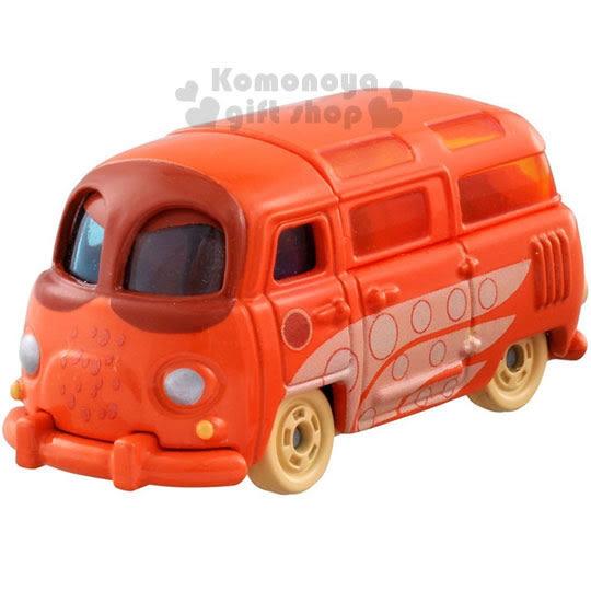 〔小禮堂〕海底總動員2 TOMICA小汽車《橘.章魚漢克》經典造型值得收藏 4904810-86483