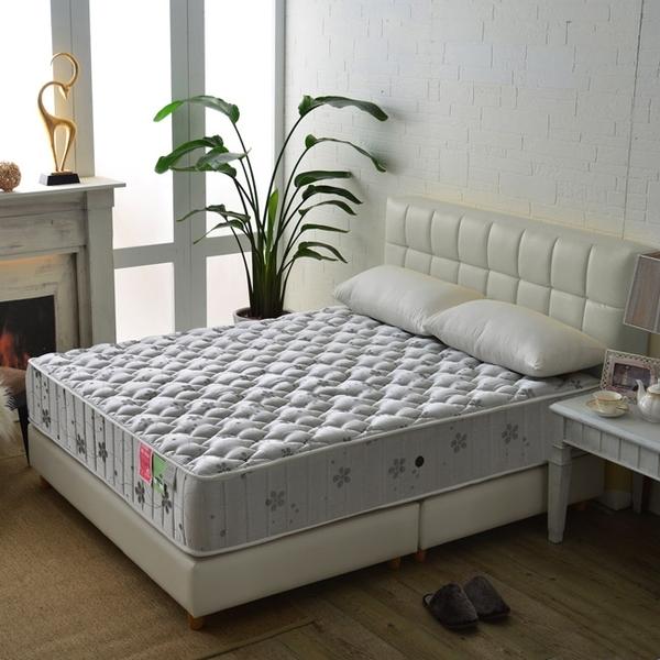 床墊 獨立筒 飯店級麵包型竹碳紗抗菌除臭防潑水蜂巢獨立筒床(厚24cm)-單人3.5尺$6400