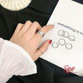 指環套裝 新款潮鈦鋼戒指食指環戒指女時尚個性簡約大氣學生套裝組 多款可選