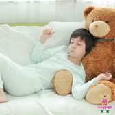 Anny pepe 男童舒暖棉長袖 白色/水綠 (90~150cm)