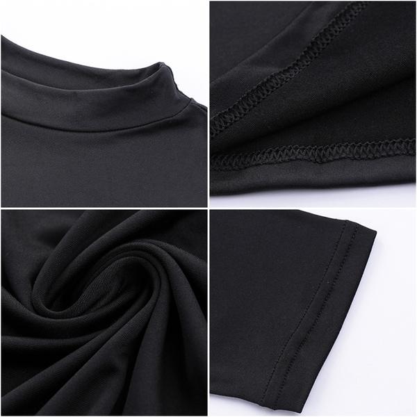 碳素磨毛發燒衣 女款立領 輕磨毛 超彈力 保暖衣 發熱衣 長袖 衛生衣【K78】綾羅綢緞