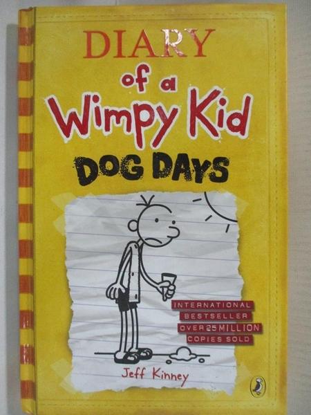 【書寶二手書T7/原文小說_AMP】DIARY OF A WIMPY KID: DOG DAYS (S) 小屁孩日記_Jeff Kinney