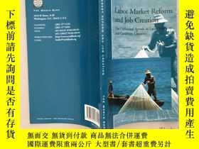 二手書博民逛書店Labor罕見Market Reform and Job Cre