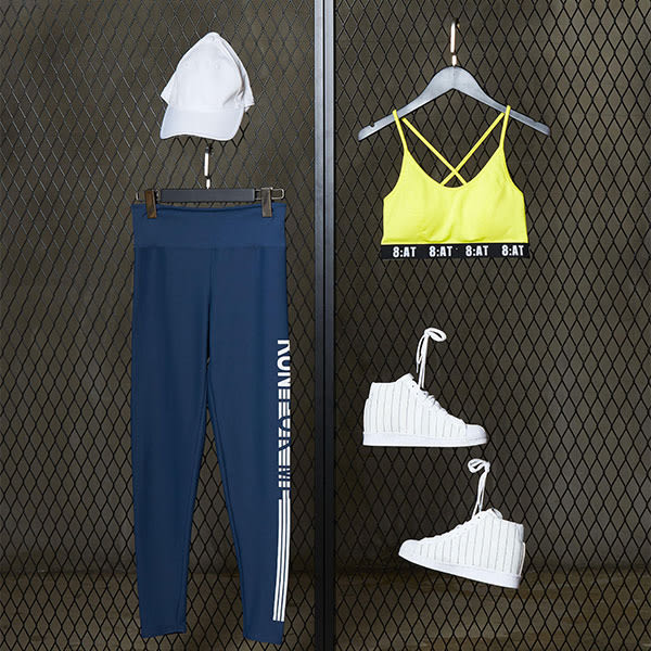 【8:AT 】運動內衣  M-XL(活力黃)(未滿2件恕無法出貨,退貨需整筆退)