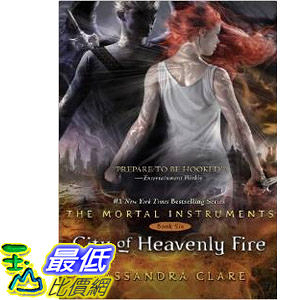 【103玉山網】 2014 美國銷書榜單 City of Heavenly Fire (The Mortal Instruments)   $794