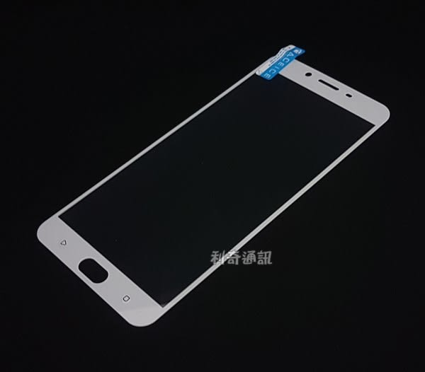 OPPO R9 Plus 滿版鋼化玻璃保護貼 (白色)