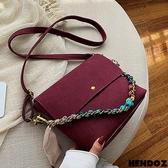 時尚包-HENDOZ.繽紛玩色鍊帶三用包(共三色)8658