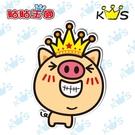 【防水貼紙】微笑豬 # 壁貼 防水貼紙 汽機車貼紙 4cm x 5.8cm