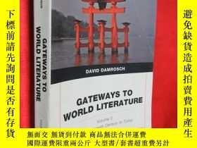二手書博民逛書店Gateways罕見to World Literature Th