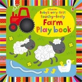 【幼兒觸摸學習書】BABYS VERY FIRST TOUCHY-FEELY FARM PLAYBOOK /觸摸書