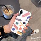 (交換禮物 聖誕)尾牙 韓風Chic色彩iphone8plus手機殼女款蘋果Xs max/xr/7硅膠套6s
