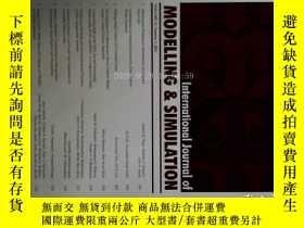二手書博民逛書店International罕見Journal of Modelling and Simulation 3 2011