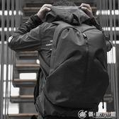 雙肩包男士個性時尚背包旅行包正韓學生書包 優家小鋪