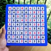 數獨遊戲棋九宮格 數字遊戲 兒童親子益智玩具 成人智力帶數獨書【全館免運】