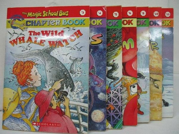 【書寶二手書T2/少年童書_ALY】The Magic School Bus-A Science Chapter Book_1~13冊間_7本合售