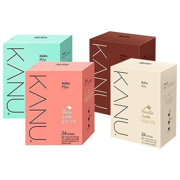韓國 Maxim KANU 咖啡(17.3gx24入/盒) 款式可選【小三美日】