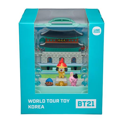 宇宙明星BT21 超級巨星 環遊世界 韓國_YT19014
