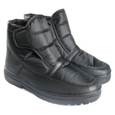 【 男 刷毛短筒雪鞋 黑】PL005/中筒靴/雪靴/雪鞋/冰爪
