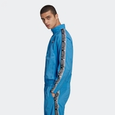 L-adidas D-R.Y.V. WSUIT 尼龍 防風 外套 串標 運動 外套 水藍 黑白 ED7217