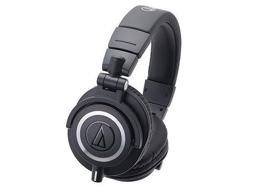【金聲樂器廣場】全新 Audio Technica 鐵三角 ATH-M50x 專業用 錄音室用 監聽耳機 黑色 / 白色