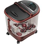 足浴盆全自動按摩洗腳盆電動加熱泡腳機深桶恒溫家用足浴器WD    電購3C
